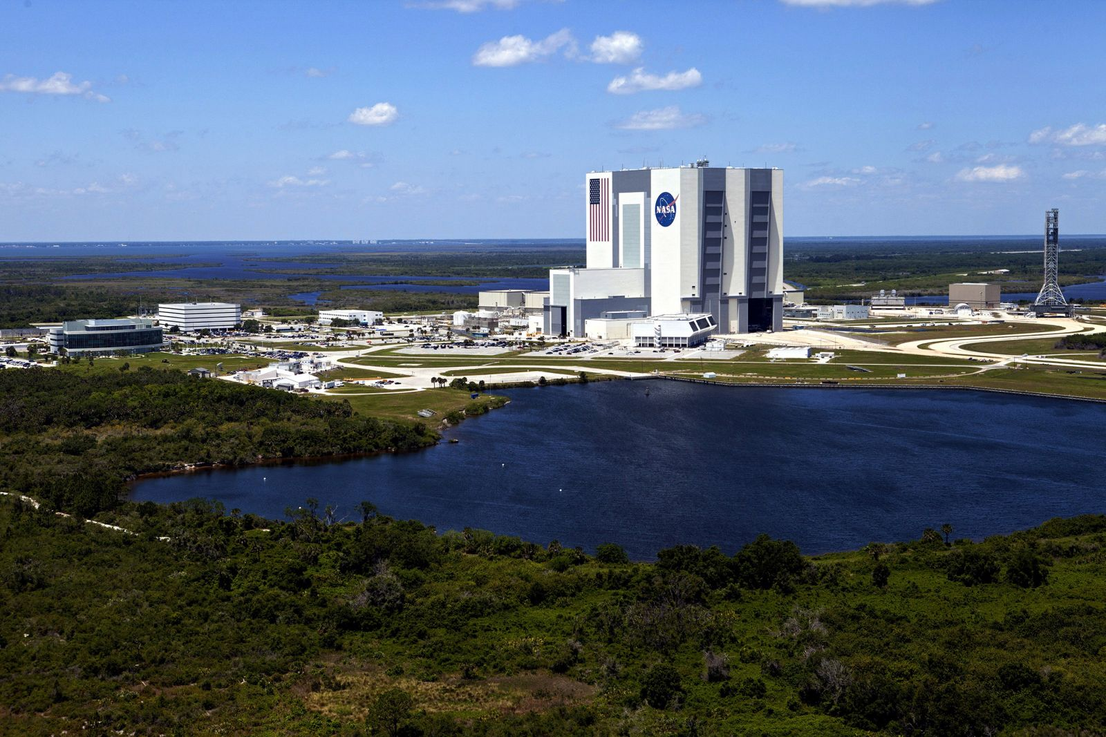 Kennedy Space Center's Vehicles Assembly Building. Photo Credit: NASA