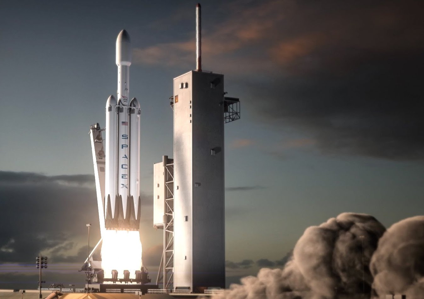 spacex still eyeing fall launch for maiden flight of falcon heavy spaceflight insider. Black Bedroom Furniture Sets. Home Design Ideas