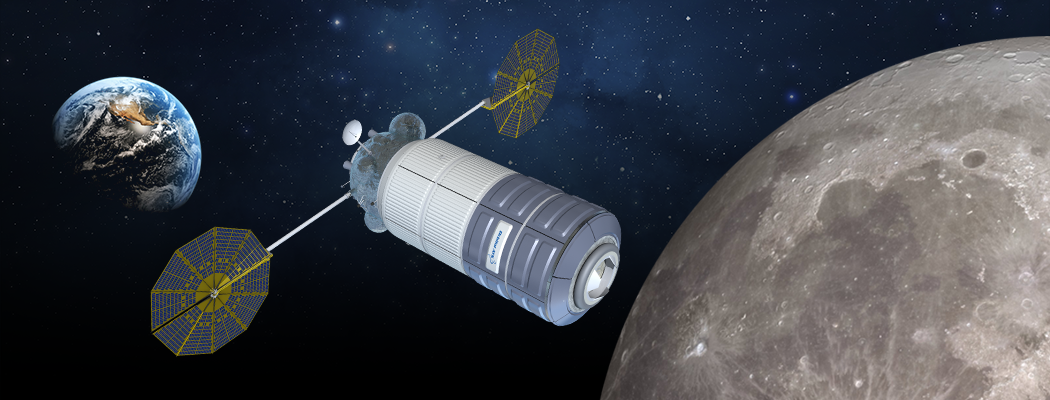 Cygnus-based deep space habitat