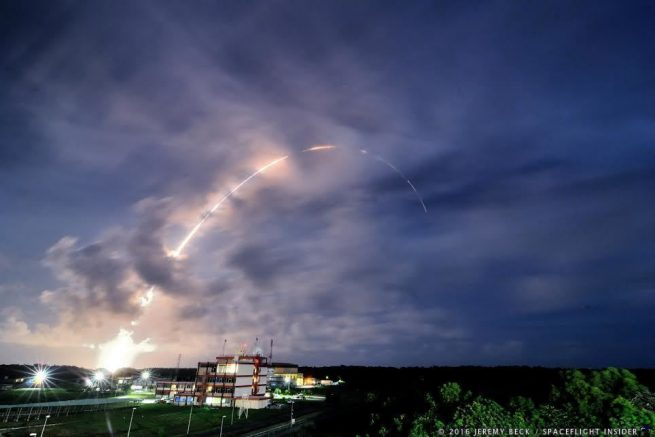 Vega VV07 PeruSat 1 SkySat 1 launches from Kourou, French Guiana photo Credit Jeremy Beck / SpaceFlight Insider
