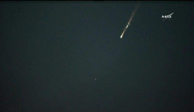 Soyuz TMA-20 Reentry