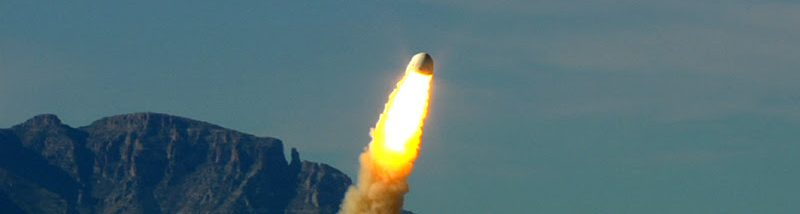 Blue Origin tests the abort system during this pad escape test on October 19, 2012. Credit: Blue Origin