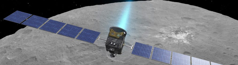 Dawn orbiting Ceres