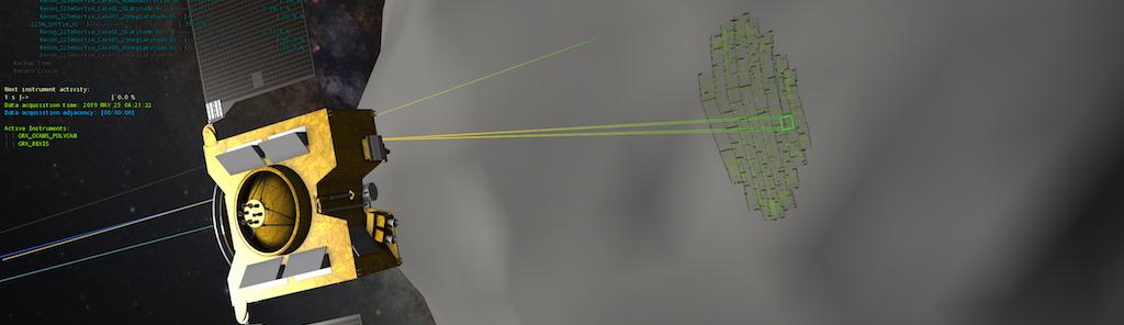 OpenSpace OSIRIS-REx