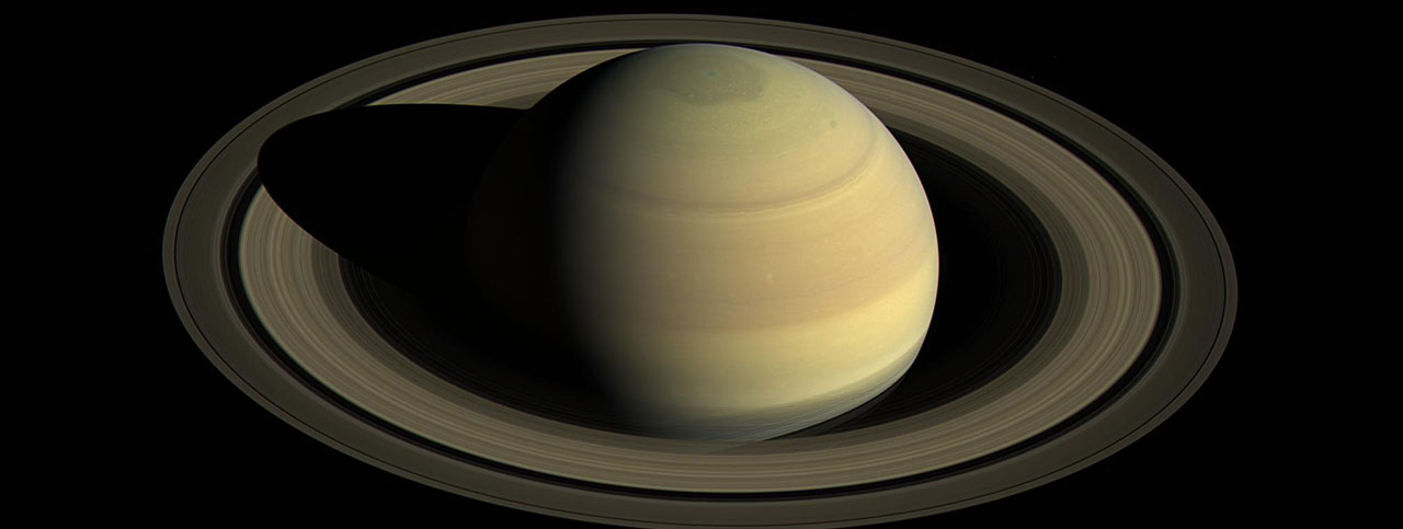 Since NASA's Cassini spacecraft arrived at Saturn, the planet's appearance has changed greatly. This view shows Saturn's northern hemisphere in 2016, as that part of the planet nears its northern hemisphere summer solstice in May 2017. Image Credit: NASA/JPL-Caltech/Space Science Institute