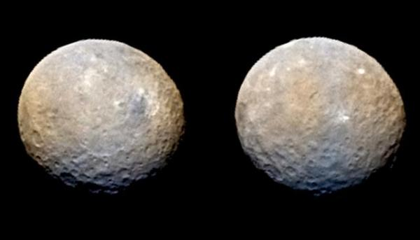 NASA finds unexpected ice volcano on dwarf planet Ceres
