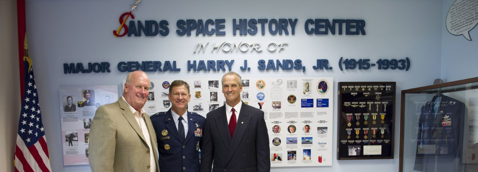 Air Force Space & Missile History Center renamed Sands Space History Center