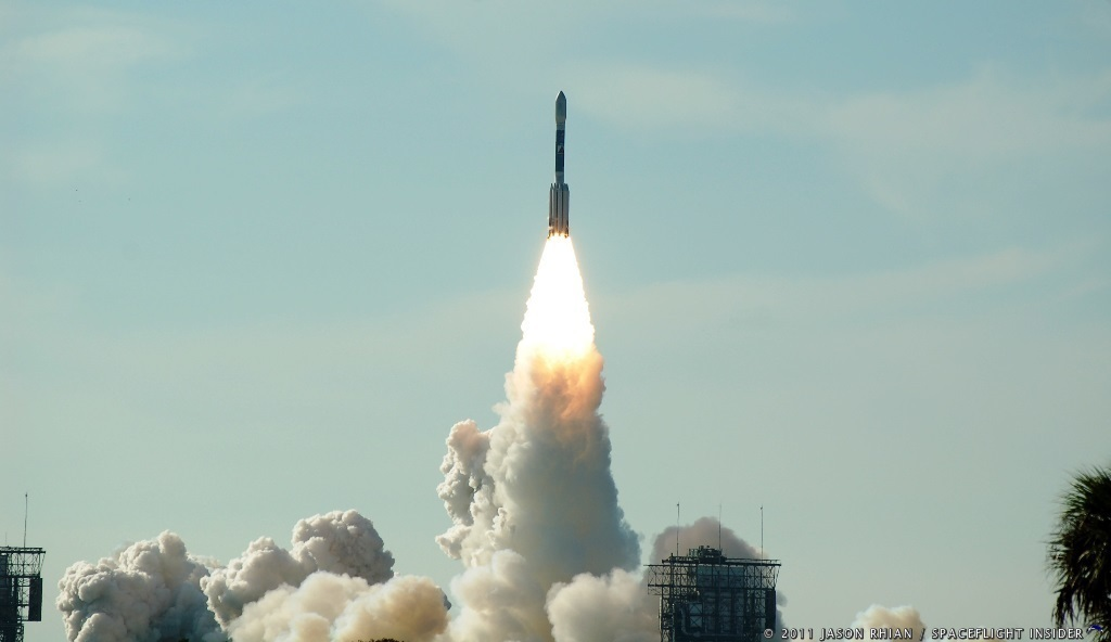 The GRAIL mission began in September of 2011 when it was launched atop a United Launch Alliance Delta II rocket from Cape Canaveral Air Force Station's Space Launch Complex 17, located in Florida. Photo Credit: Jason Rhian / SpaceFlight Insider