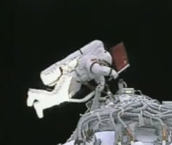 China's first spacewalk
