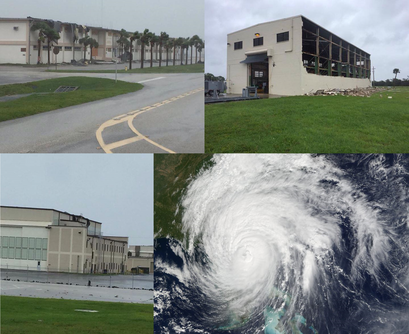 hurricane-matthew-caused-extensive-damage-to-cape-canaveral-air-force-station-in Florida photo credit 45th Space Wing