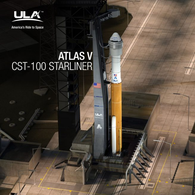 Atlas V CST-100 Starliner