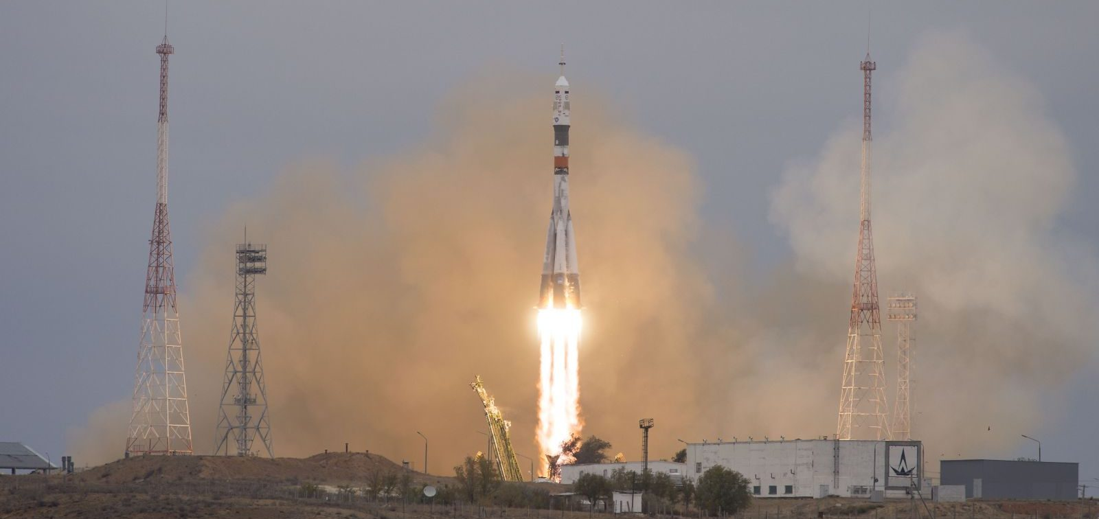 Soyuz MS-02 launch