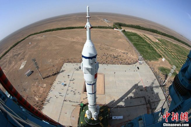 shenzhou 10 long march 2f jiuquan
