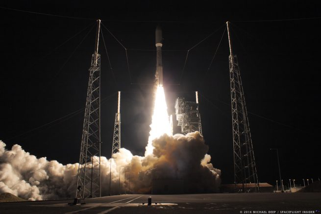 Atlas V launch with GOES-R.
