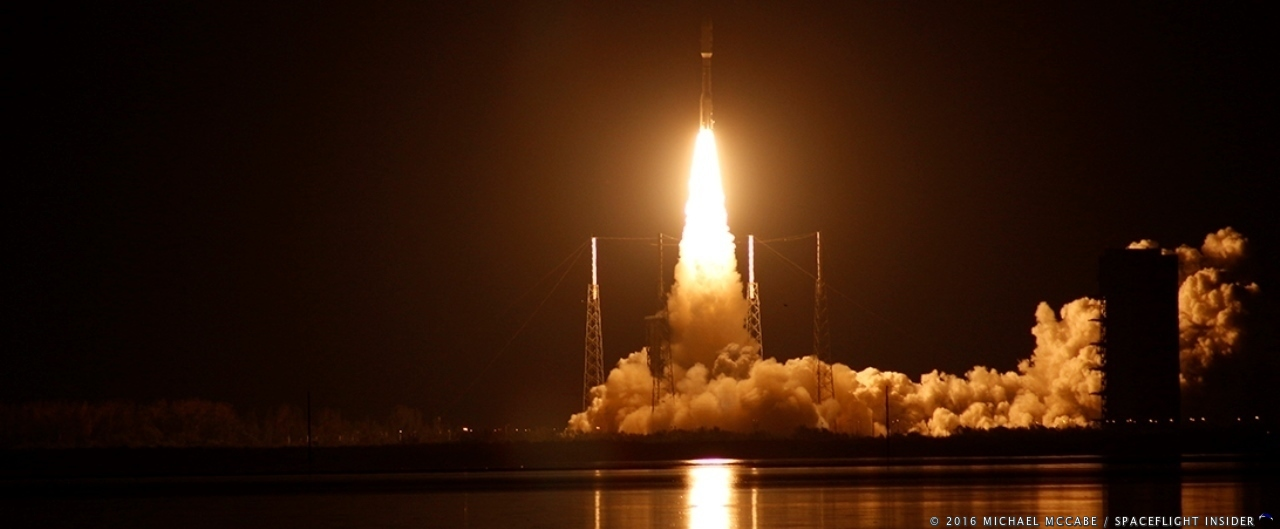 Atlas V launch with GOES-R