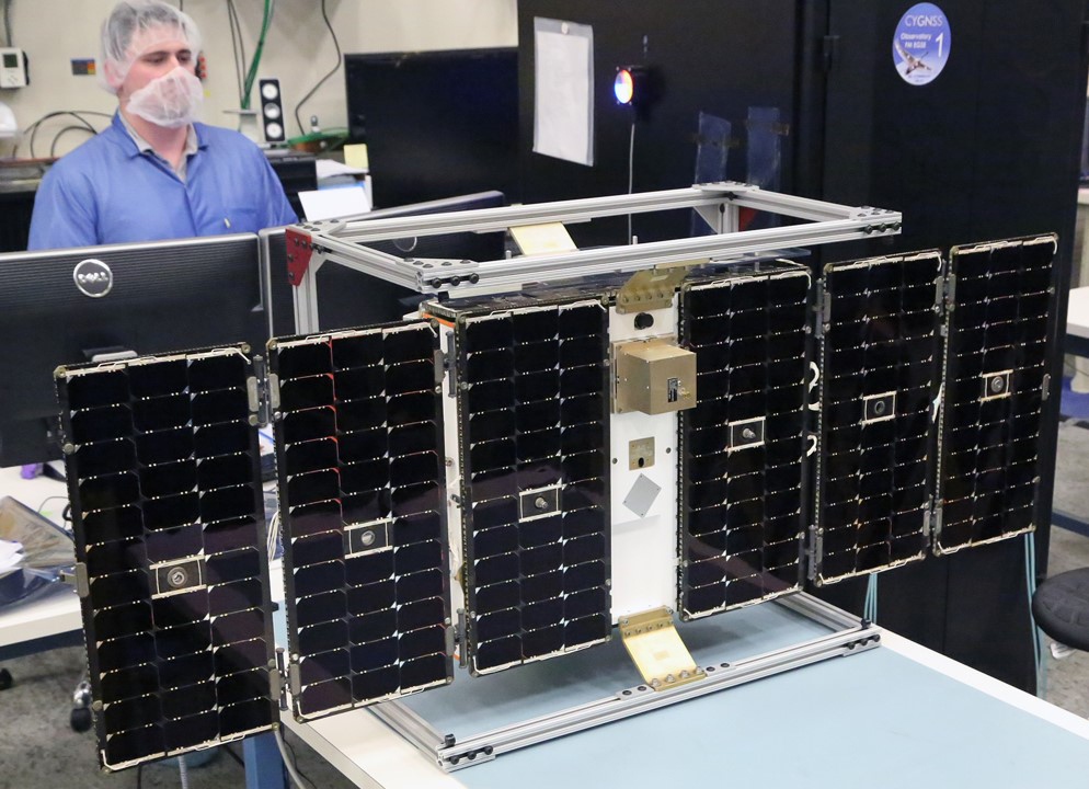 CYGNSS CubeSat