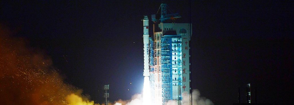 Long March 2D launches Yunhai-1