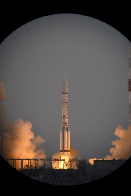 ESA's ExoMars mission was launched atop a Russian Proton M rocket in March of 2015. Photo Credit: ESA posted on SpaceFlight Insider