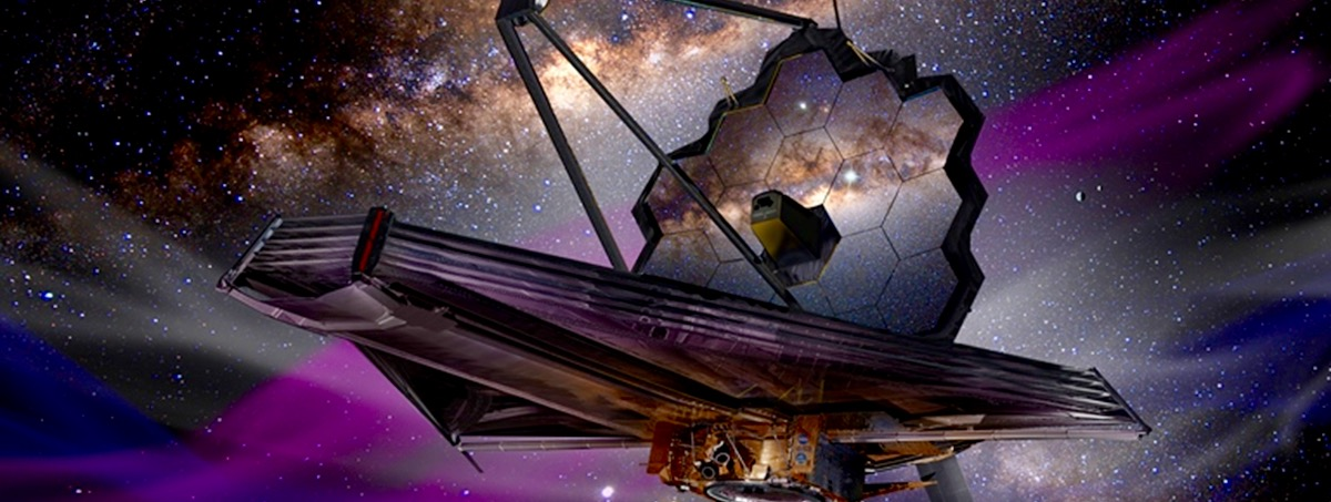Artist's concept of the James Webb Space Telescope. Image Credit: James Vaughan / SpaceFlight Insider