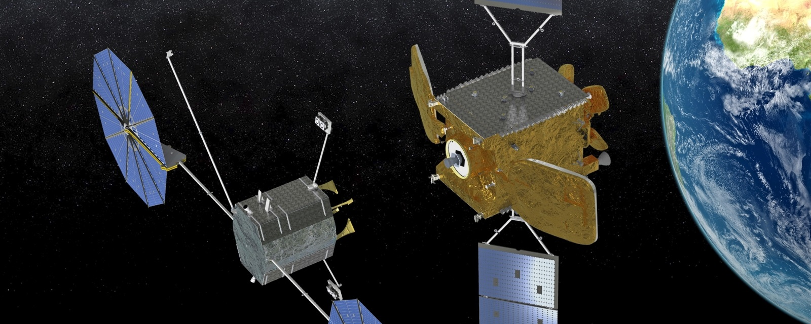 Orbital ATK's concept of MEV on-orbit