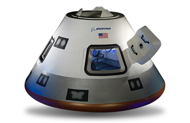 Boeing CST-100 Starliner image credit Boeing posted on SpaceFlight Insider