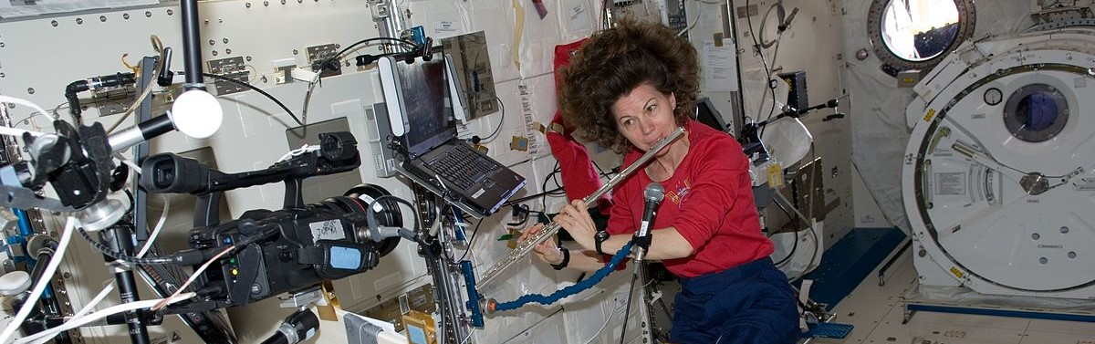 Cady Coleman on ISS