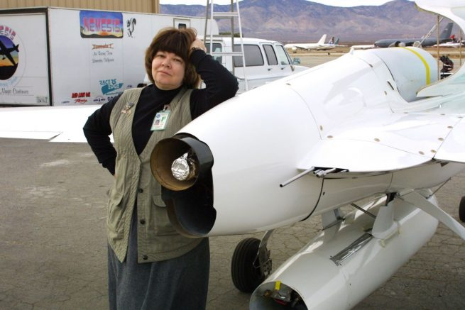 Aleta Jackson DeLong, co-founder of XCOR, died Sunday, Dec. 4, 2016.