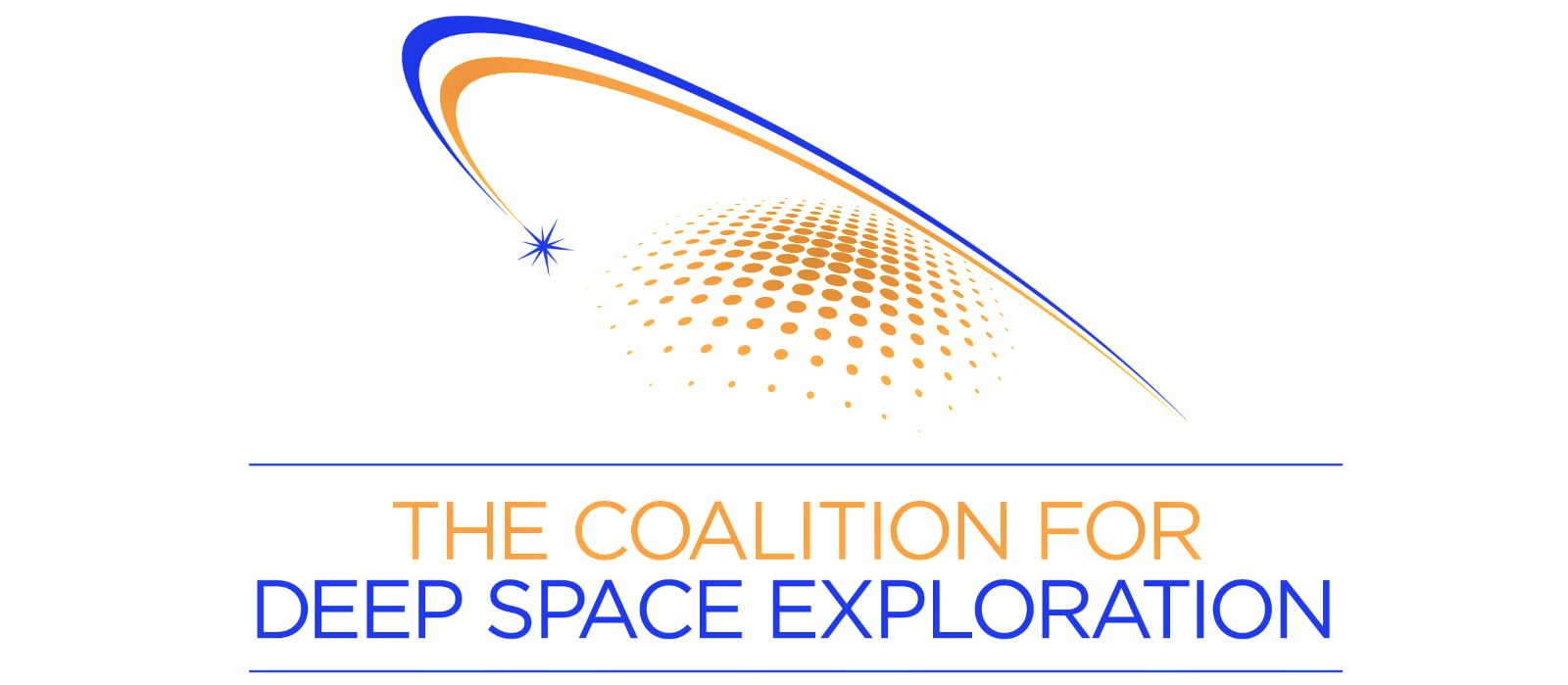 Coalition for Deep Space Exploration logo.