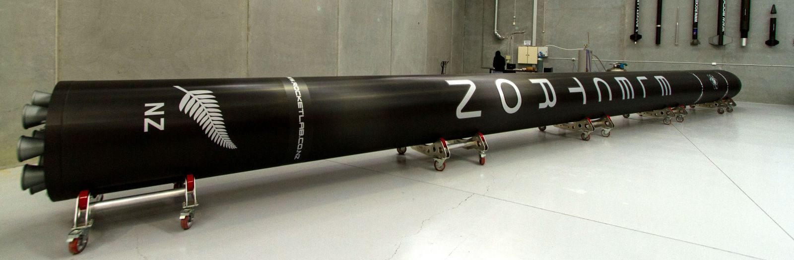 Electron Rocket. Photo Credit: Rocket Lab