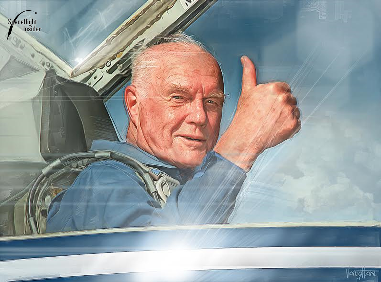 Silent Seven: John Glenn, last Mercury astronaut, dies at ...