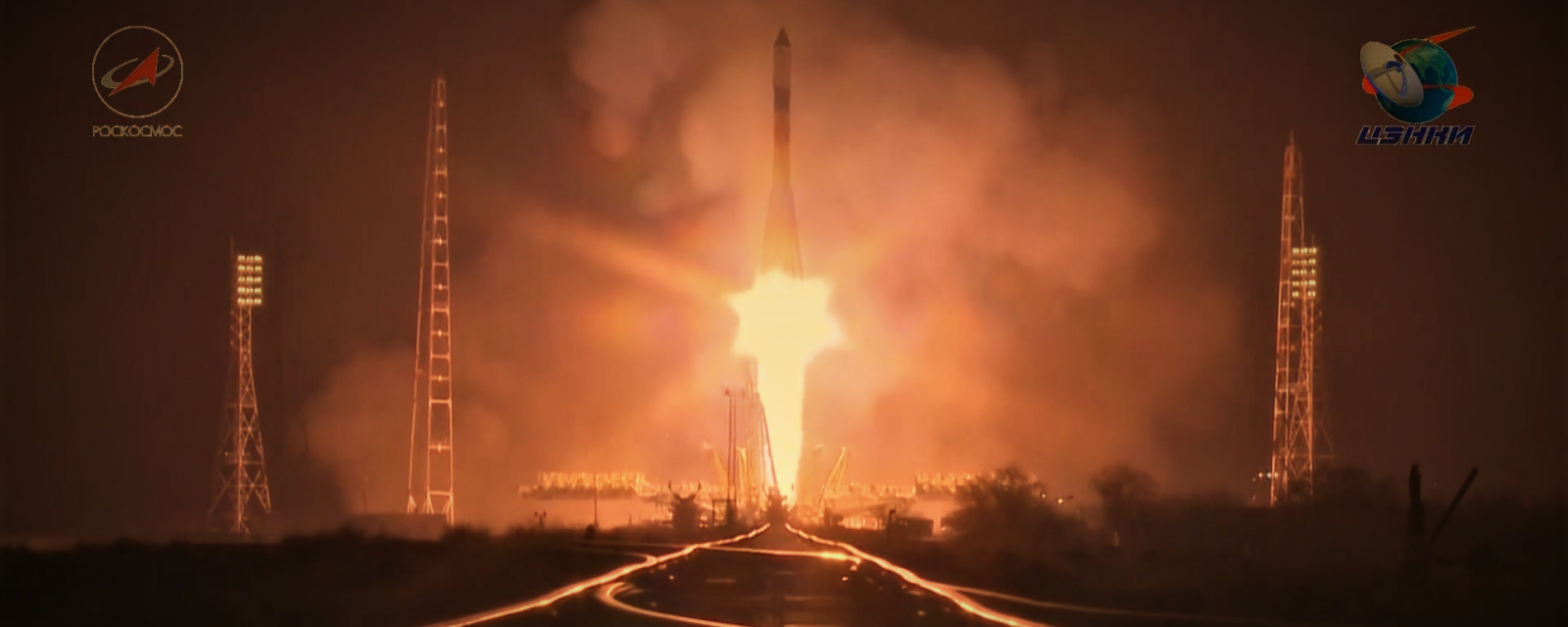 Soyuz-U / Progress MS-04 launch