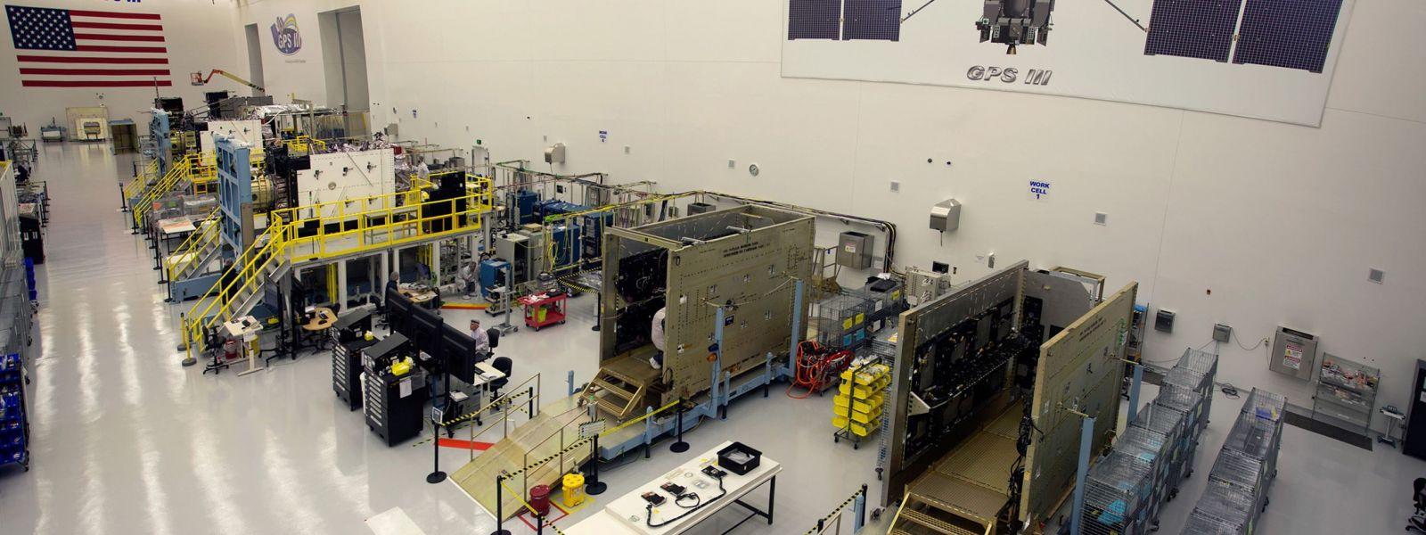 USAF GPS III satellite Lockheed Martin photo posted on SpaceFlight Insider