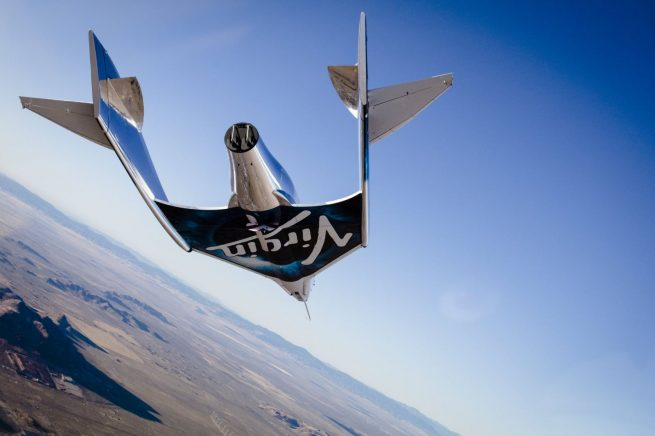 SpaceShipTwo / VSS Unity glide