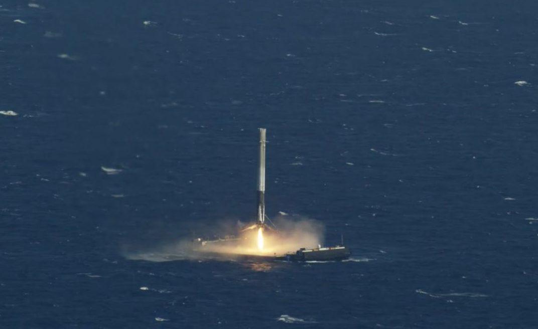 CRS-8 Falcon 9 landing