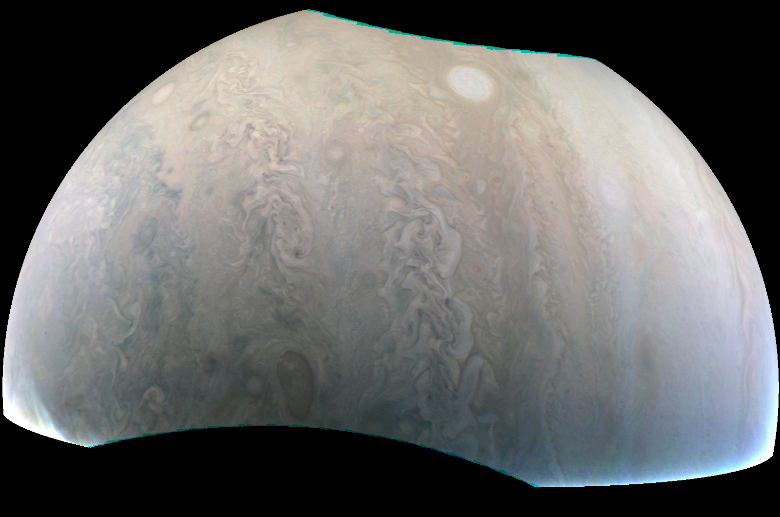 "Juno and Jupiter's ""pearl"""