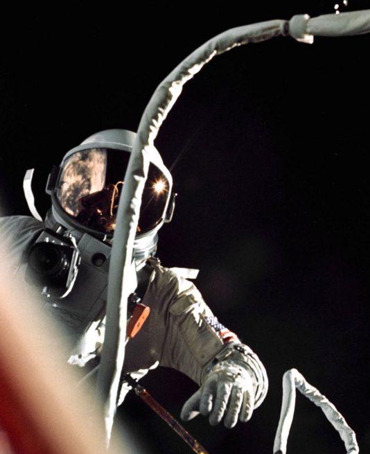 Gemini 9 EVA