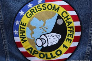 Apollo 1 patch at 50th anniversary event