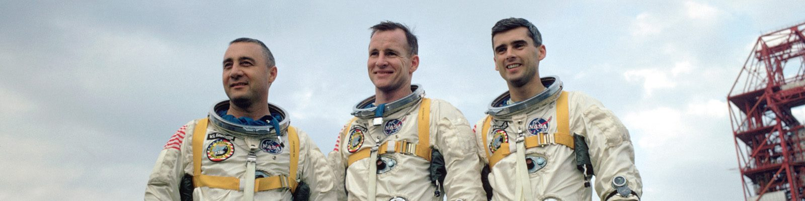 Apollo-1 crew Grissom, White, and Chaffee