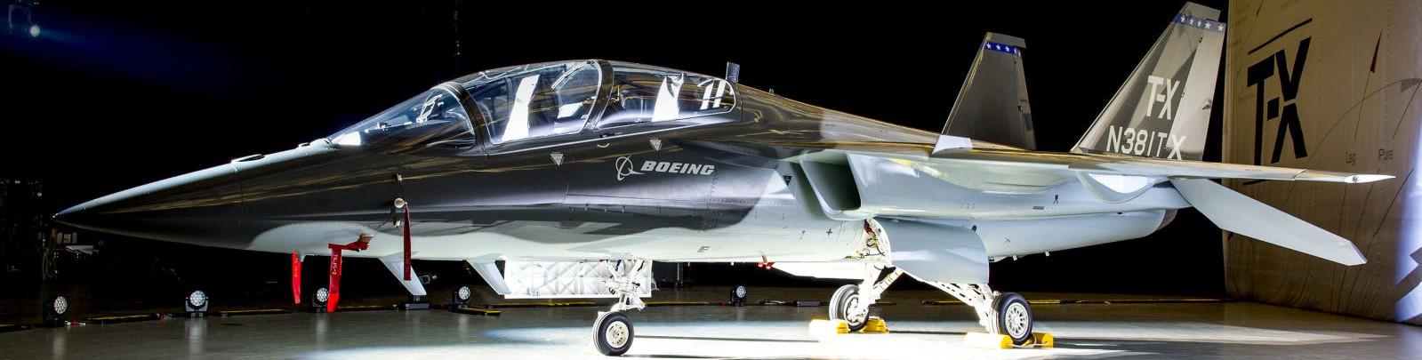 Boeing's T-X trainer