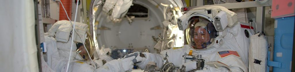 EVA-38 spacewalk suitup