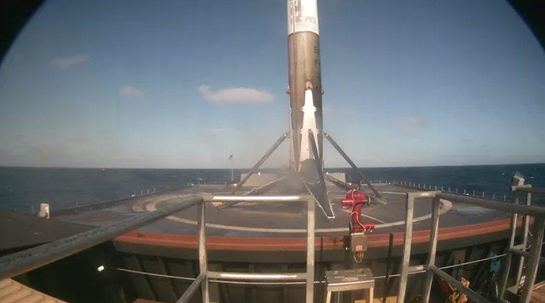 Falcon 9 West Coast Landing