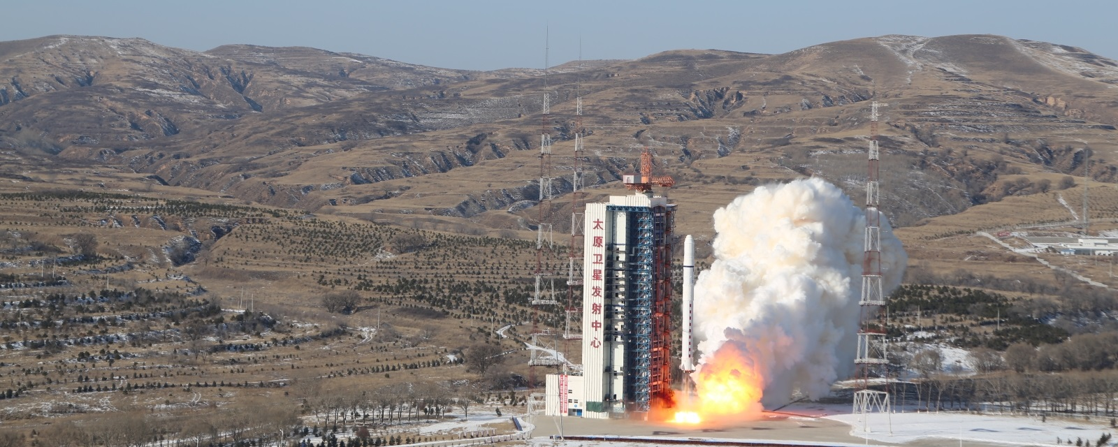 Launch of Long March 2D with SuperView-1 01 and 02