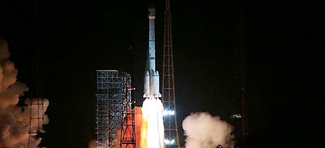 CZ-3B / TJS-2 liftoff