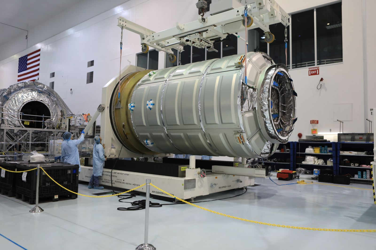 The PCM will now undergo processing assembly and integration in preparation for a March 2017 launch atop a United Launch Alliance Atlas V 401 rocket. Photo Credit: NASA