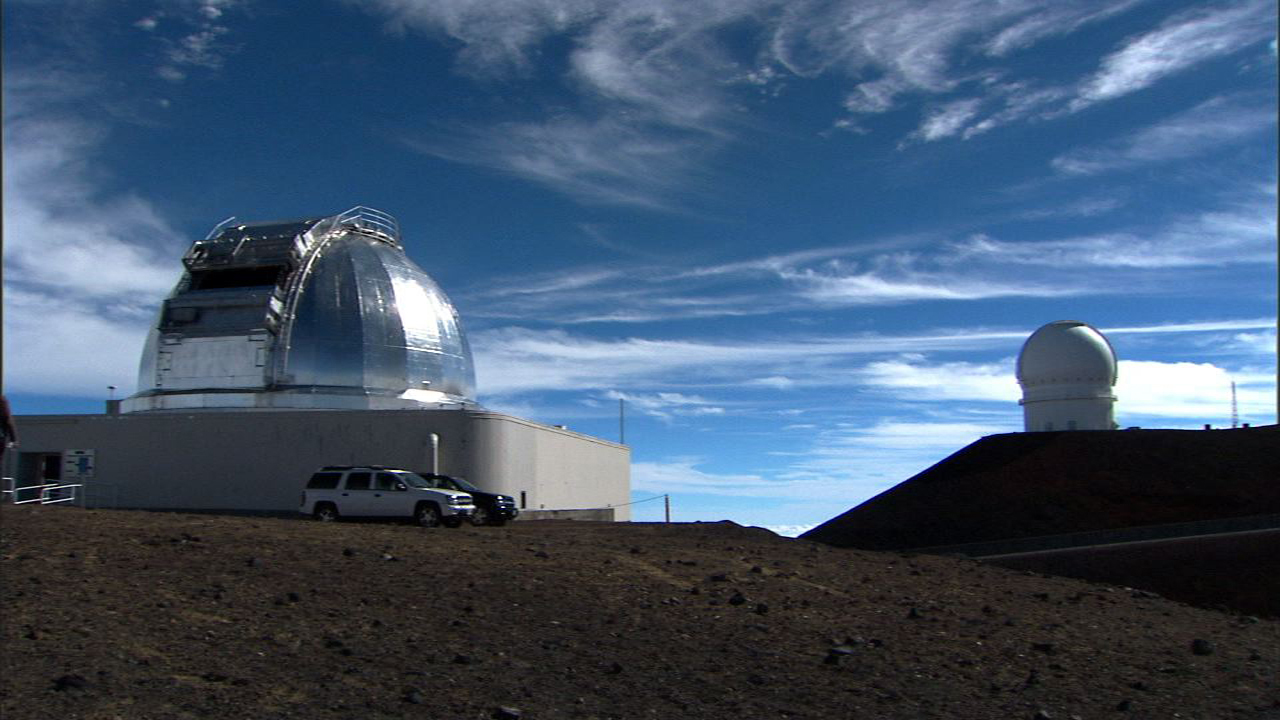 NASA's Infrared Telescope Facility (IRTF) in Hawaii is where Takir's team carried out their research. Photo Credit: NASA / JPL-Caltech