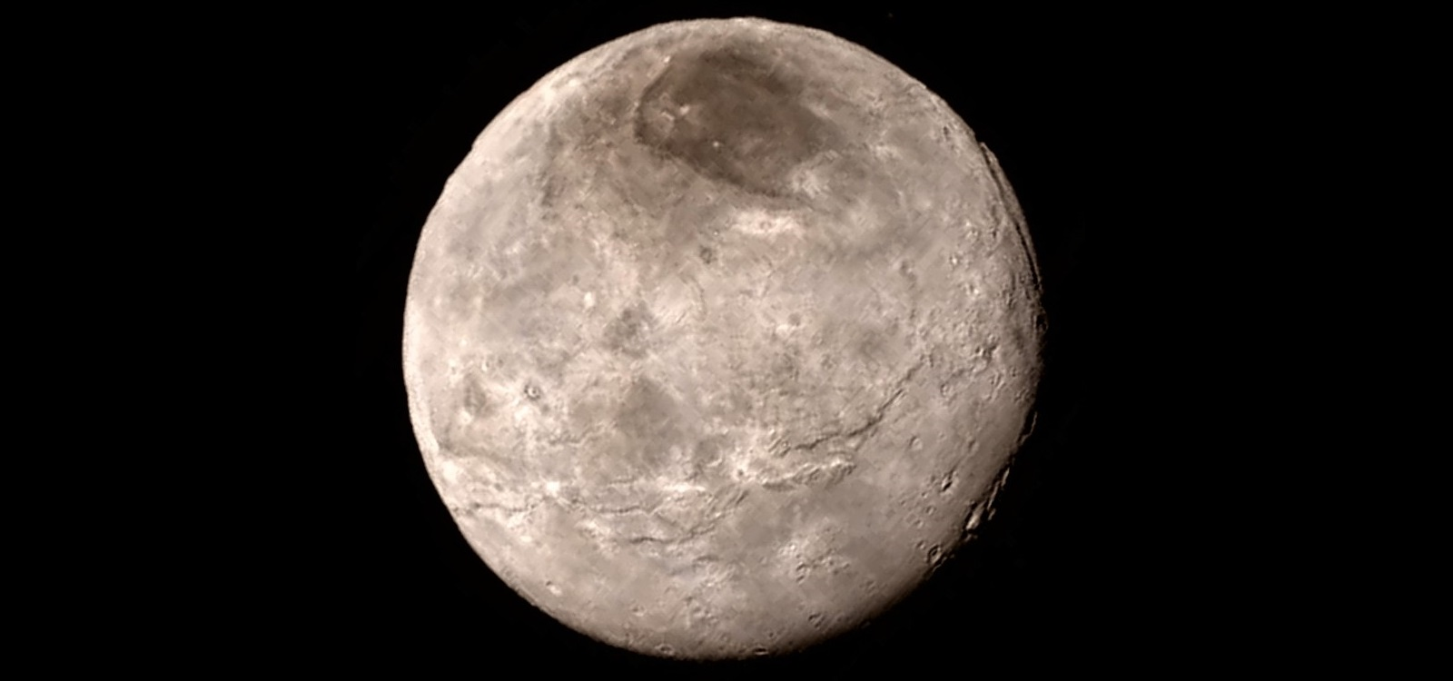 Charon in natural color