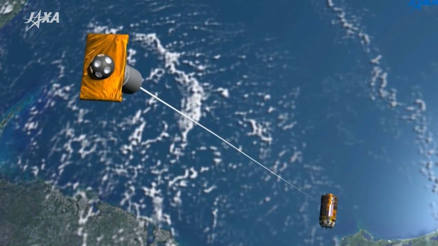 Japan's high-tech space junk collector might already be broken