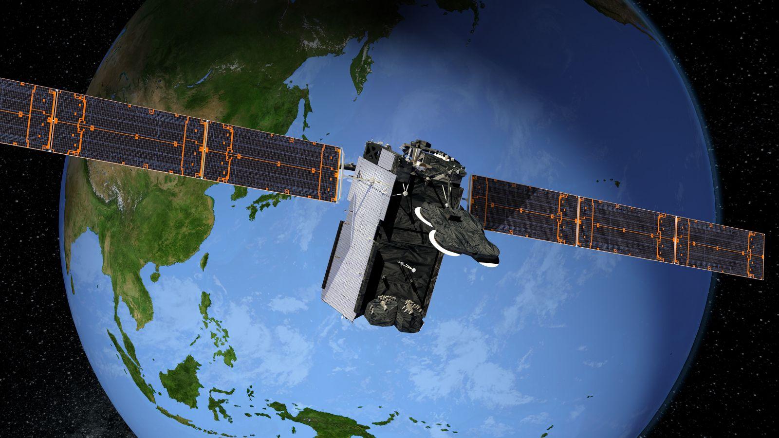 Boeing 702 satellite