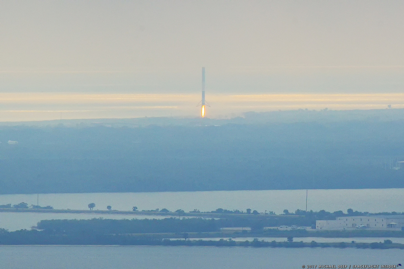 SpaceX Falcon 9 Touches Down At LZ 1 Formerly LC 13 At Cape