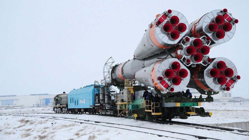 Final Soyuz U rollout